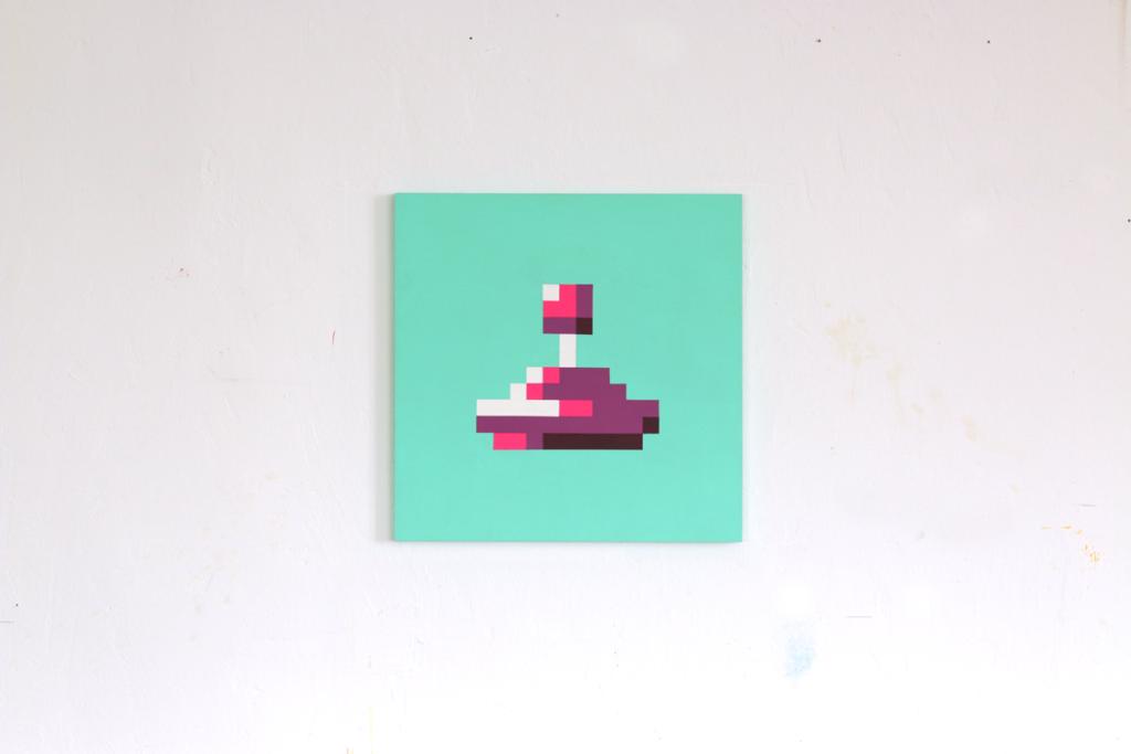 eigenschaften persönlichkeit acrylic fine pixel art painting ivo zibulla leipzig