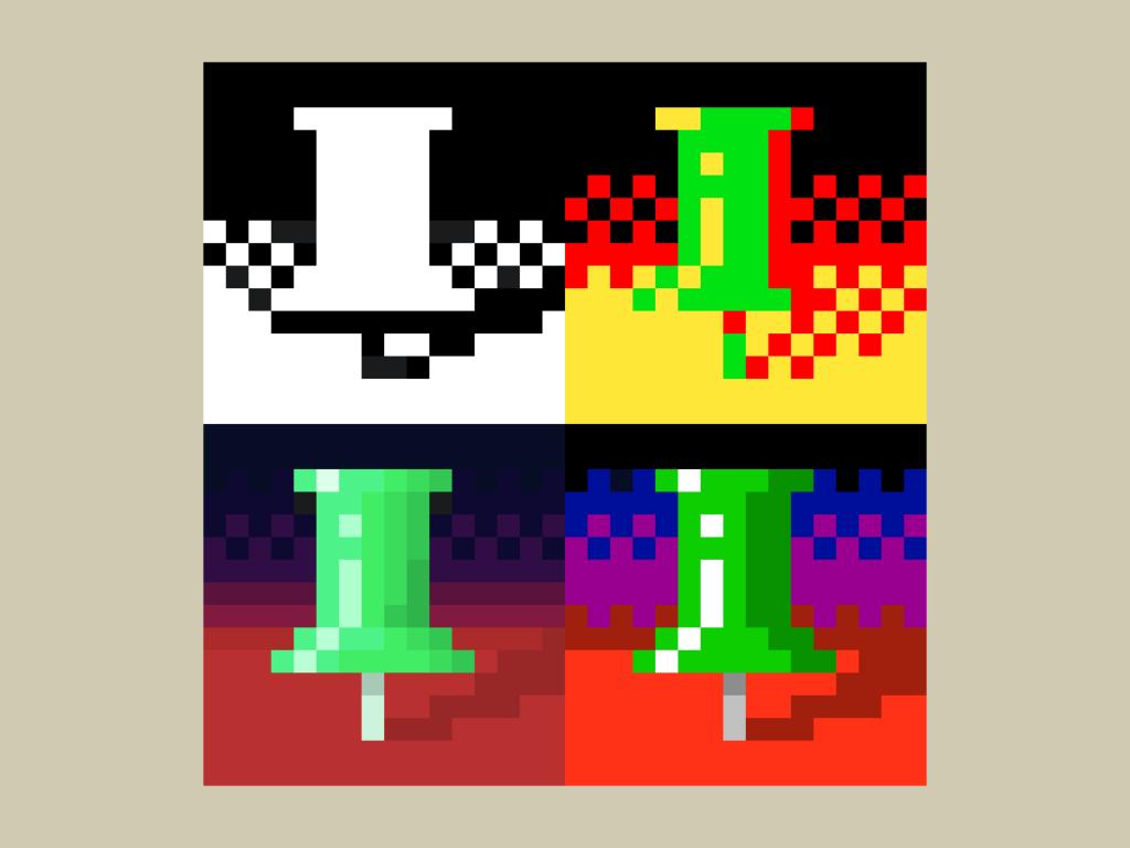 sicht der dinge pixel fine art digital art ivo zibulla leipzig