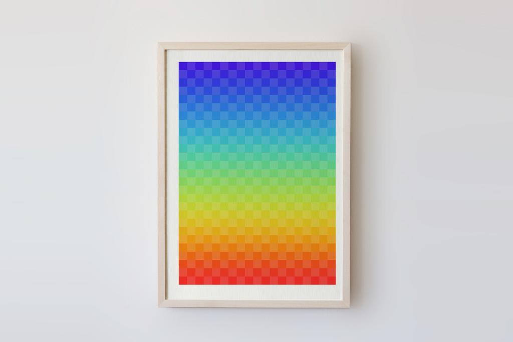 limited edition digital fine pixelart print sonnenuntergang ivo zibulla leipzig