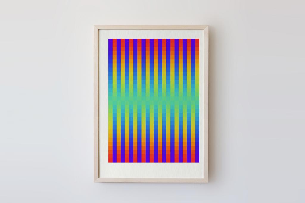 limited edition digital fine pixelart print zwielicht ivo zibulla leipzig
